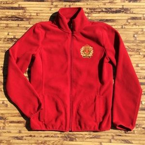 Lauren Ralph Lauren Full Zip Fleece Jacket Womens